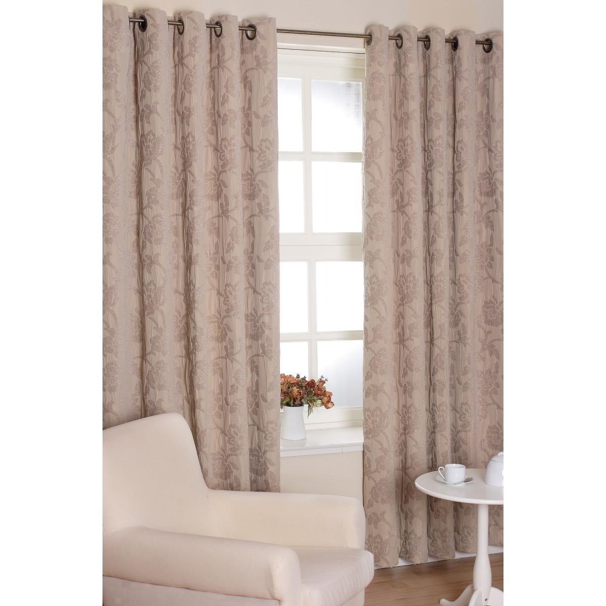 Sienna Taupe Slx Curtains